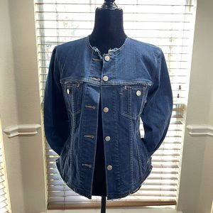 Levi Fray Edges Jean Jacket